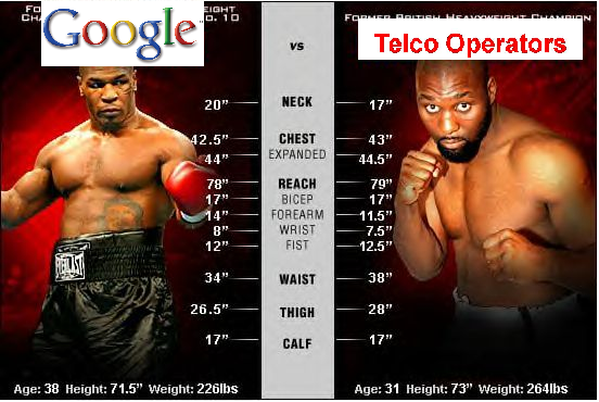 Full Article: Google vs Telcos, Tale of the Tape